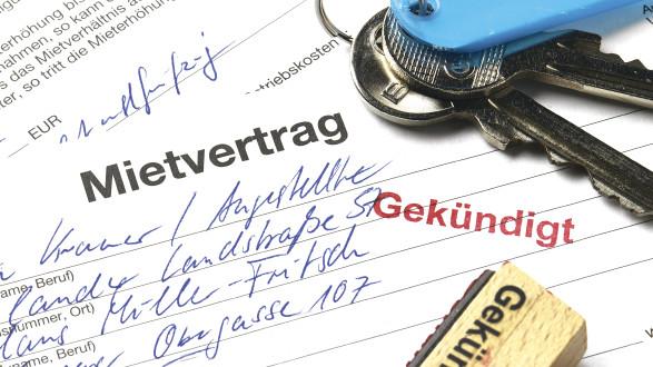 Mietvertrag mit Stempel gekündigt © akf/stock.adobe.com