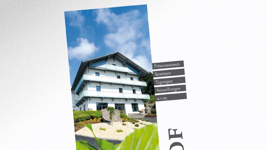 Infofolder Bildungshaus Seehof © -, AK Tirol