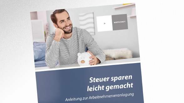 Brochüre Steuer sparen leicht gemacht © Africa Studio – stock.adobe.com, AK Tirol