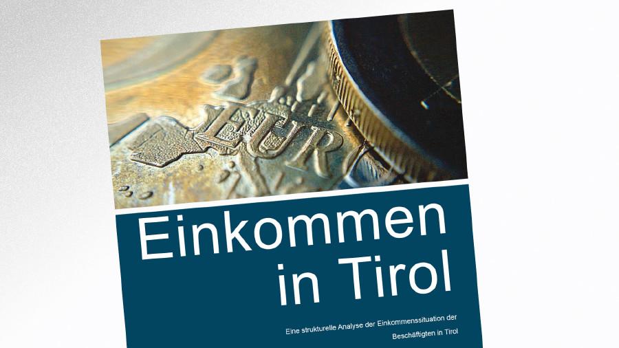 Studie Einkommensbericht 2013 © -, AK Tirol