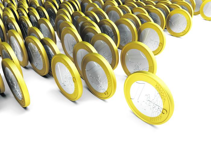 rollende Euro © auris/stock.adobe.com