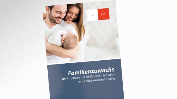 Broschüre Familienzuwachs © -, AK Tirol