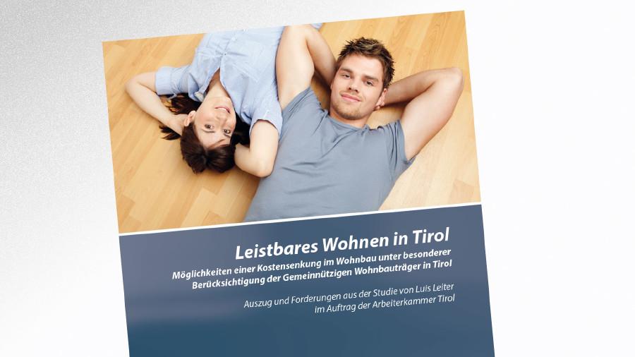 Studie Leistbarer Wohnraum in TIrol (2014) © -, AK Tirol