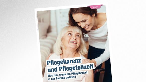 Broschüre Pflegekarenz und Pflegeteilzeit © Viacheslav Iakobchuk – stock.adobe.com, AK Tirol