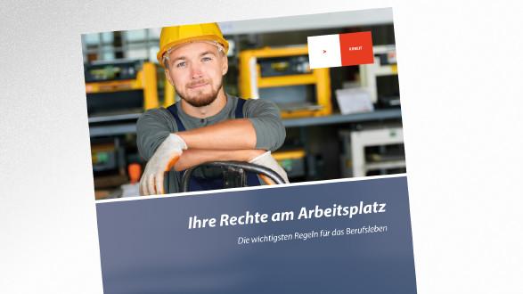 Broschüre Ihre Rechte am Arbeitsplatz © seventyfour – stock.adobe.com, AK Tirol
