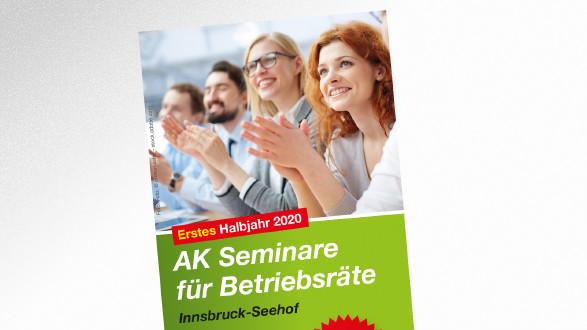 AK Seminare für Betriebsräte erstes Halbjahr 2020 © © pressmaster – stock.adobe.com, AK Tirol