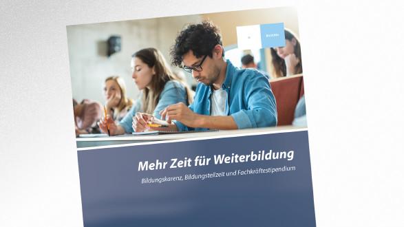 Broschüre Mehr Zeit für Weiterbildung © Gorodenkoff – stock.adobe.com, AK Tirol
