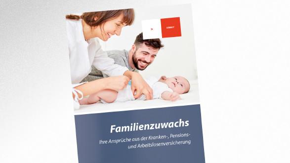 Broschüre Familienzuwachs © Robert Kneschke - stock.adobe.com, AK Tirol