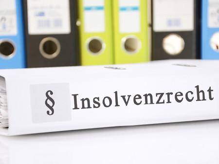 Insolvenzrecht Ordner © Marco2811, Fotolia.com