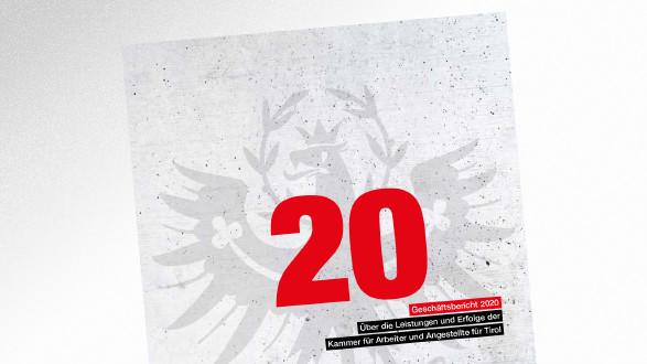 Broschüre Geschäftsbericht 2020 © AK Tirol, AK Tirol