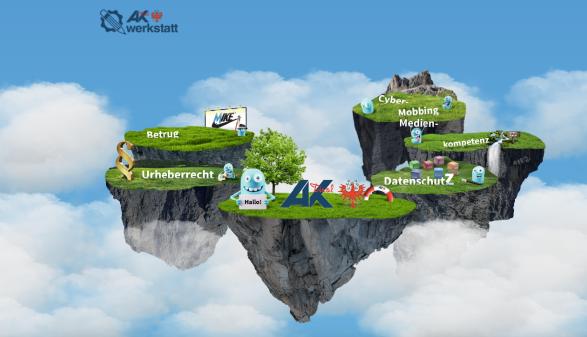 Online mit Köpfchen © AK Tirol