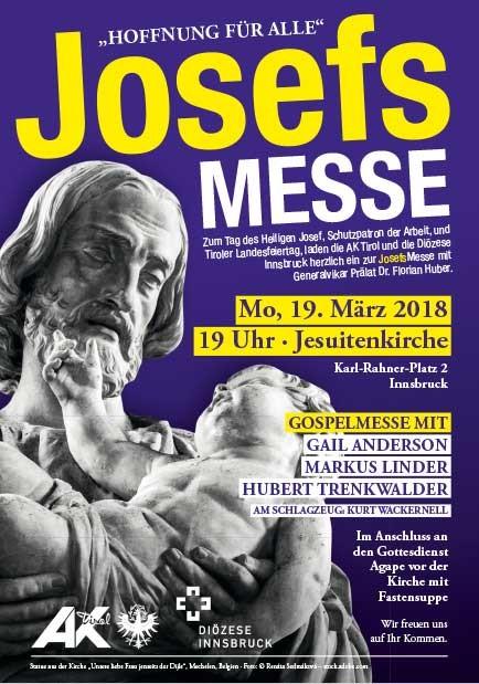 "Einladungskarte ""Josefsmesse"" © -, AK Tirol"