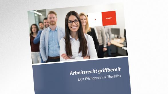 Broschüre Arbeitsrecht griffbereit © nd3000 – stock.adobe.com, AK Tirol