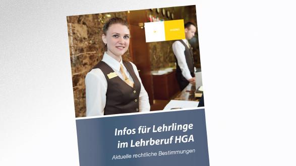 Broschüre Infos für Lehrlinge im Lehrberuf HGA © -, AK Tirol