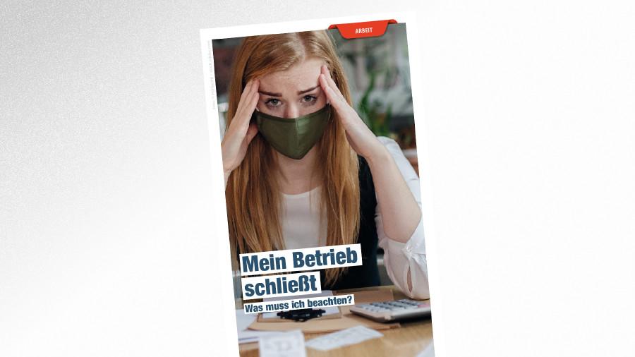 Broschüre Mein Betrieb schließt © Halfpoint – stock.adobe.com, AK Tirol