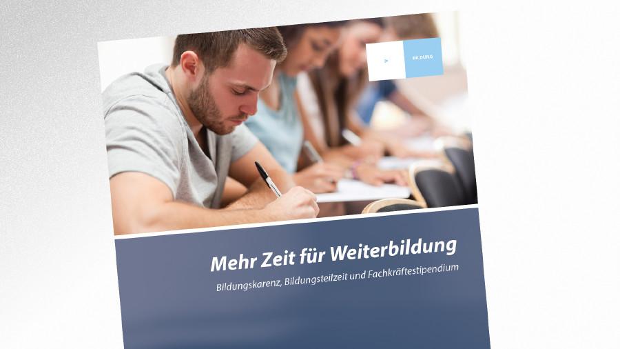 Broschüre Mehr Zeit für Weiterbildung © AK Tirol