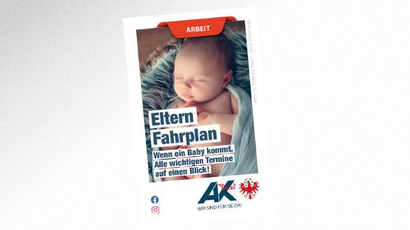 Falter Elterfahrplan © Ramona Heim – stock.adobe.com, AK Tirol