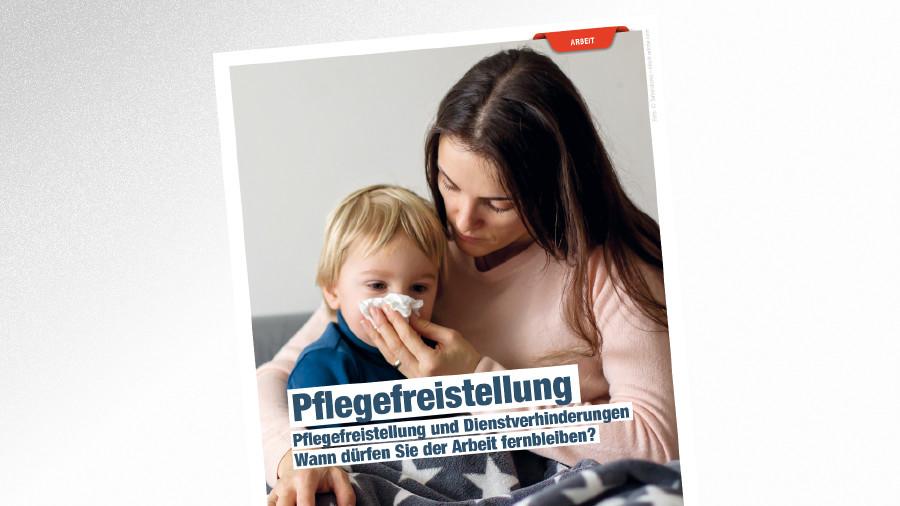 Broschüre Pflegefreistellung © Tomsickova – stock.adobe.com, AK Tirol