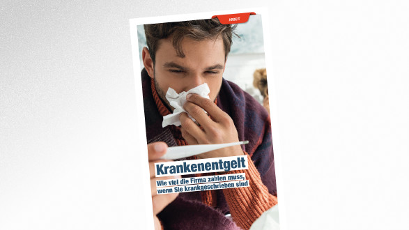 Broschüre Krankenentgelt © LIGHTFIELD STUDIOS - stock.adobe.com, AK Tirol