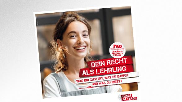 Dein Recht als Lehrling © © rh2010 – stock.adobe.com , AK Tirol