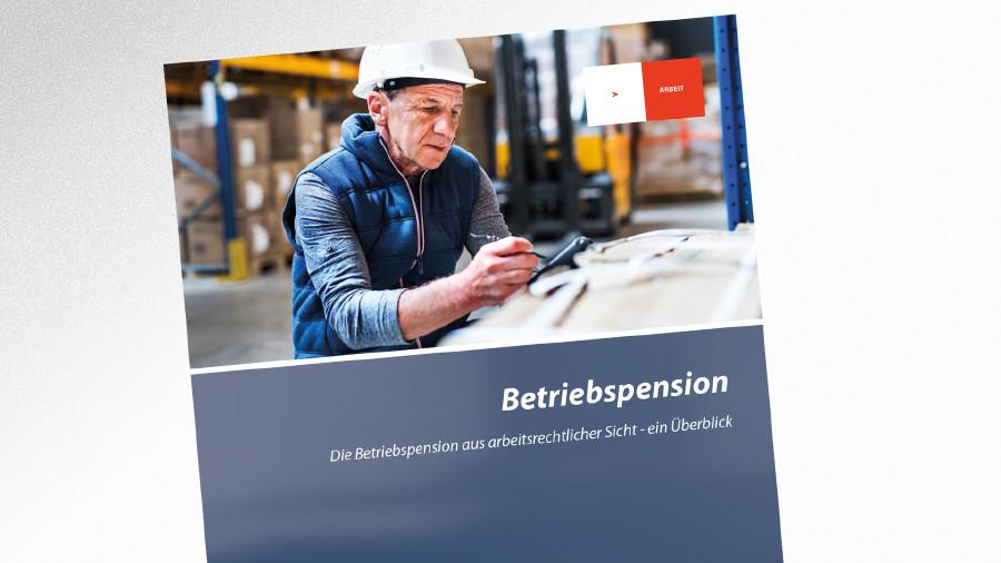 Broschüre Betriebspension © Halfpoint - stock.adobe.com.com, AK Tirol