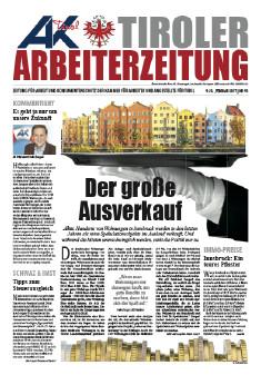 Tiroler Arbeiterzeitung Ausgabe Februar 2017 © -, AK Tirol