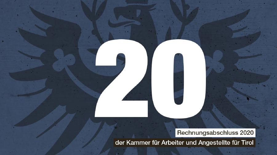 Rechnungsabschluss 2020 © AK Tirol