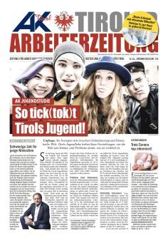 Tiroler Arbeiterzeitung Ausgabe Oktober 2020 © AK Tirol, AK Tirol