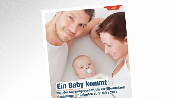 Broschüre Ein Baby kommt © Руслан Галиуллин – stock.adobe.com, AK TIrol