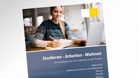 Broschüre Studieren - Arbeiten - Wohnen © Oleksii – stock.adobe.com, AK Tirol