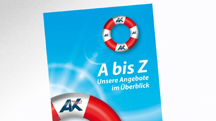 Broschüre A bis Z - Unsere Angebote im Überblick © AK Tirol, AK Tirol