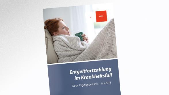 Broschüre Entgeltfortzahlung im Krankheitsfall © drubig-photo – stock.adobe.com, AK Tirol