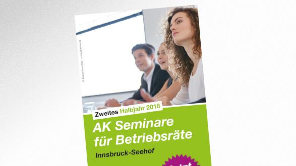 Falter AK Seminare für Betriebsräte © -, AK Tirol