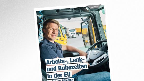 Broschüre Arbeits-, Lenk- und Ruhezeiten in der EU © Kzenon – stock.adobe.com, AK Tirol