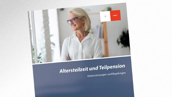 Broschüre Altersteilzeit und Teilpension © fizkes - stock.adobe.com.com, AK Tirol