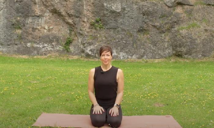 Yoga-Expertin Anja Strump © AK Tirol
