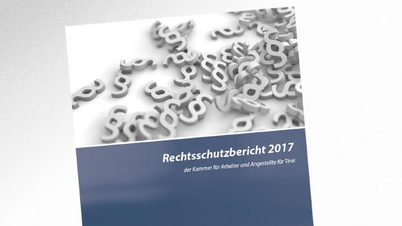 Broschüre Rechtsschutzbericht 2017 © -, AK Tirol