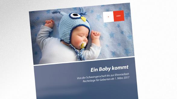 Broschüre Ein Baby kommt © candy 1812 – stock.adobe.com, AK Tirol