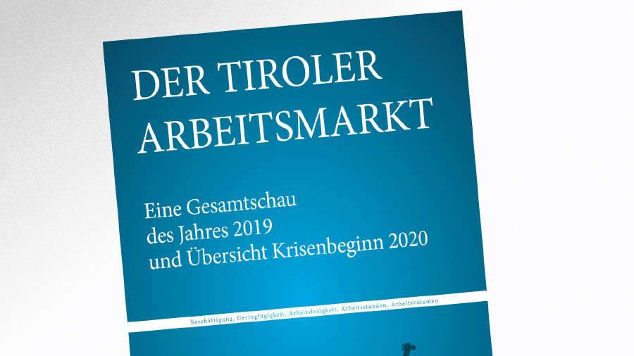 Broschüre Der Tiroler Arbeitsmarkt 2019 © AK Tirol