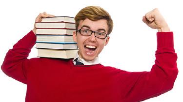 Schüler mit Büchern, Nachhilfe © Elnur, Fotolia.com