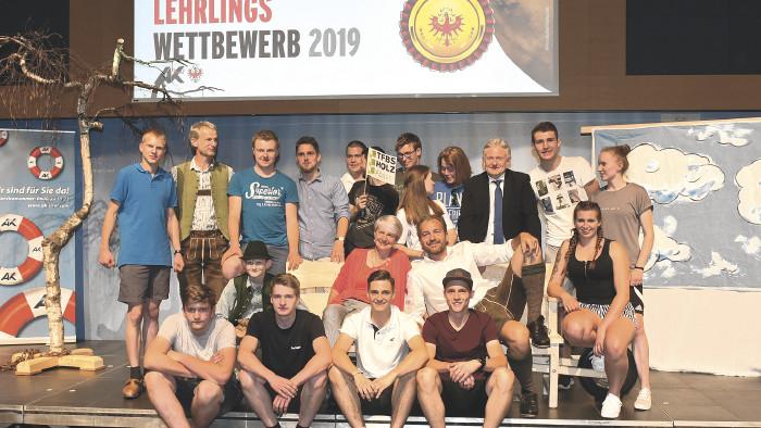 Sieger des Lehrlingswettbewerbs © AK Tirol