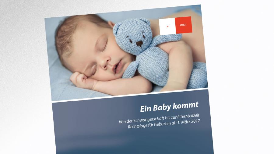 Broschüre Ein Baby kommt © -, AK Tirol