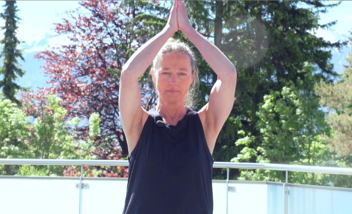 Trainerin Ingrid Benedikt © AK Tirol