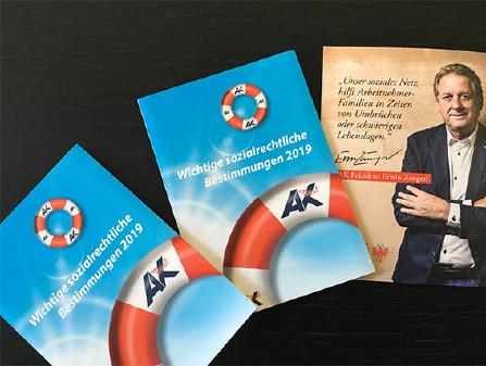Broschüre sozialrechtliche Bestimmungen © AK Tirol