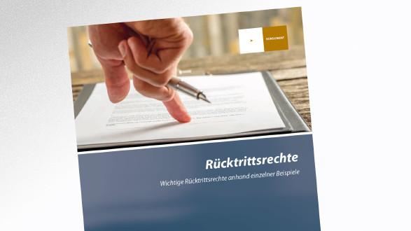 Broschüre Rücktrittsrechte © -, AK Tirol