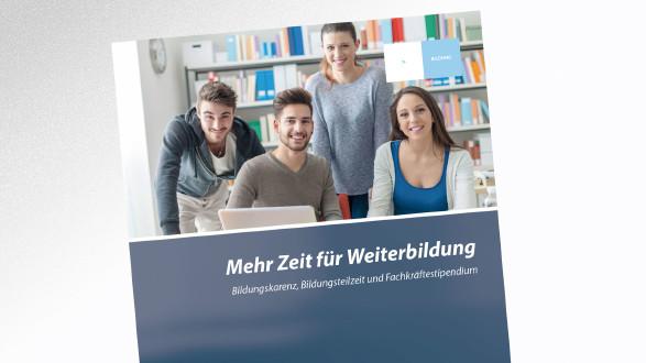 Broschüre Mehr Zeit für Weiterbildung © -, AK Tirol