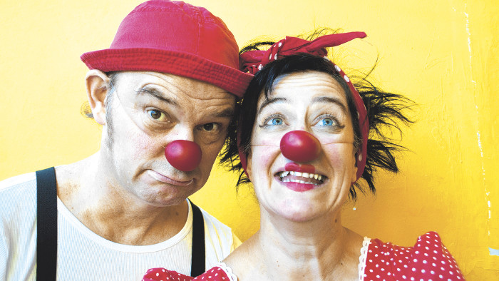 Herbert und Mimi © Heinz Hanuschka