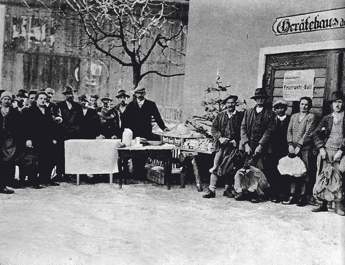 Brotverteilung durch die AK, Winter 1931/32 © AK Tirol