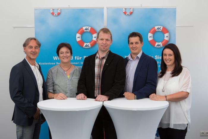 Gruppenbild des Teams der Bezirkskammer Telfs © AK Tirol