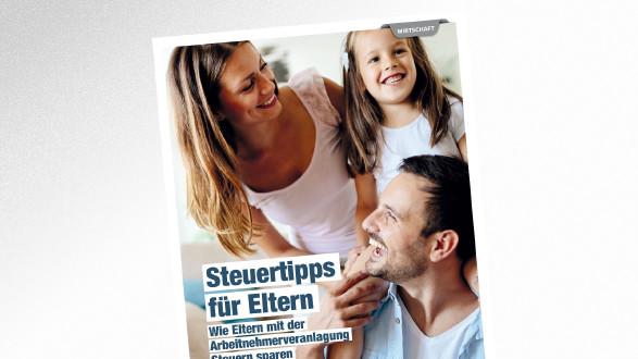 Broschüre Steuertipps für Eltern © NDABCREATIVITY – stock.adobe.com, AK Tirol
